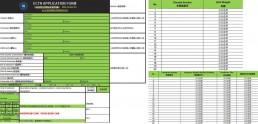 多哥BESC电子货物跟踪单 申请表样本